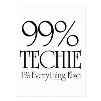 El 99% Techie Postales