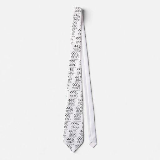 El 99% Viking Corbata Personalizada