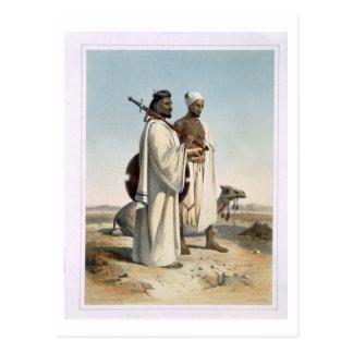 El Ababda, nómadas del desierto del este de Postales