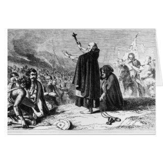 El abad de Inchaffray Tarjeton