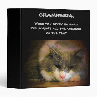 El abarrotar para la prueba puede darle Cramnesia Carpeta 3,8 Cm