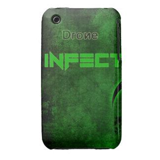 el abejón del iPhone 3 infecta el caso iPhone 3 Case-Mate Cobertura