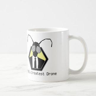 El abejón más grande del mundo taza básica blanca