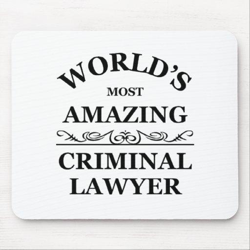 El abogado criminal más asombroso del mundo tapetes de ratones