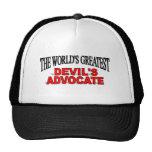 El abogado del diablo más grande del mundo gorras de camionero
