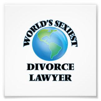 El abogado del divorcio más atractivo del mundo impresion fotografica