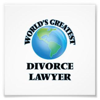 El abogado del divorcio más grande del mundo arte fotográfico