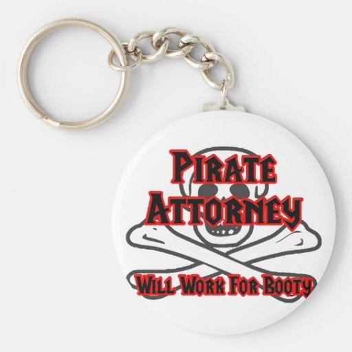 El abogado del pirata… trabajará para el botín llaveros