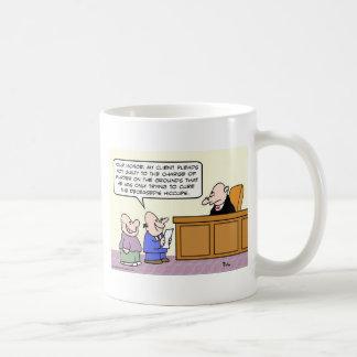 El abogado dice que el asesinato era realmente taza de café
