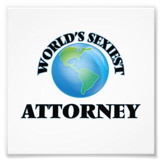 El abogado más atractivo del mundo cojinete