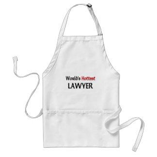 El abogado más caliente de los mundos delantal
