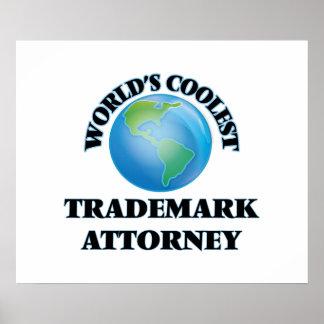 El abogado más fresco de la marca registrada del impresiones