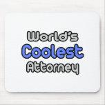 El abogado más fresco del mundo alfombrilla de raton