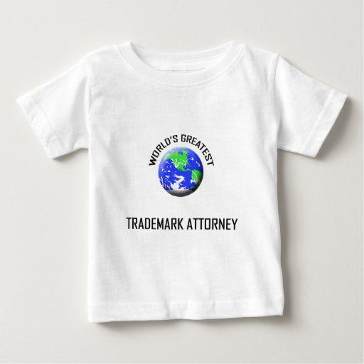 El abogado más grande de la marca registrada del camisetas