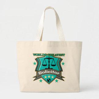 El abogado más grande del mundo legal bolsa tela grande