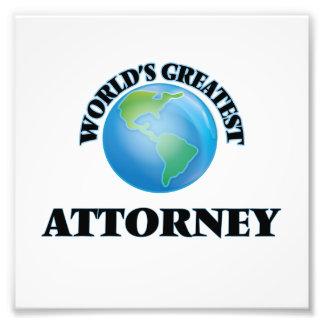 El abogado más grande del mundo cojinete