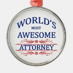 El abogado más impresionante del mundo adornos