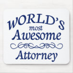 El abogado más impresionante del mundo alfombrillas de raton