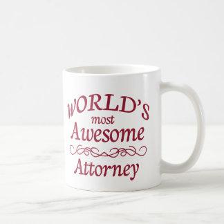 El abogado más impresionante del mundo taza de café