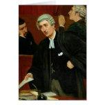 El abogado tarjeta de felicitación