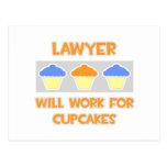 El abogado… trabajará para las magdalenas tarjeta postal