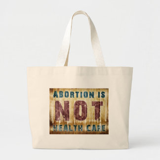 El aborto no es atención sanitaria bolsa de mano