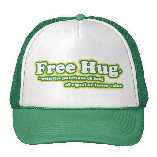 El abrazo libre abraza la parodia gorro de camionero