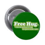 El abrazo libre de la diversión abraza la parodia pin