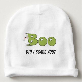 ¿El abucheo de Halloween hizo yo le asusta? Gorrito Para Bebe