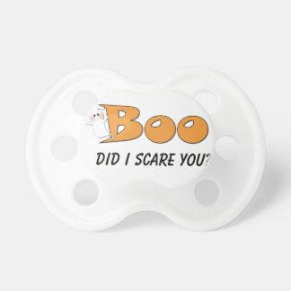 ¿El abucheo de Halloween hizo yo le asusta? (Naran Chupetes Para Bebés