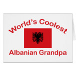 El abuelo albanés más fresco del mundo - tarjeta