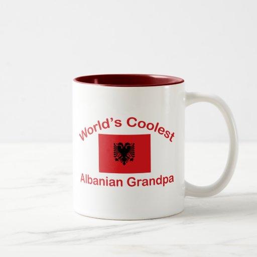 El abuelo albanés más fresco taza