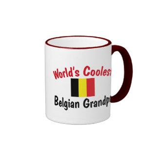 El abuelo belga más fresco del mundo taza de dos colores
