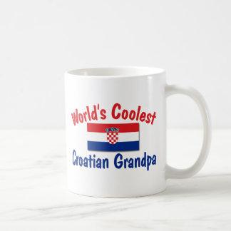 El abuelo croata más fresco taza