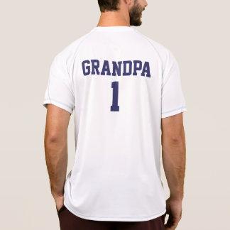El abuelo divertido personalizado se divierte el camiseta