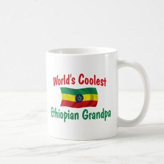 El abuelo etíope más fresco taza de café