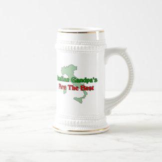 El abuelo italiano es el mejor taza