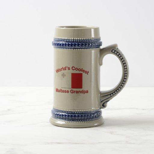 El abuelo maltés más fresco tazas