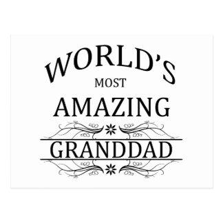 El abuelo más asombroso del mundo postales