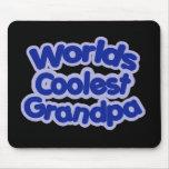 El abuelo más fresco de los mundos alfombrilla de ratones