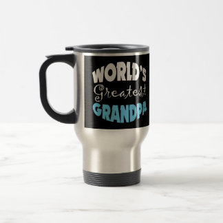 El abuelo más grande de los mundos taza de viaje de acero inoxidable