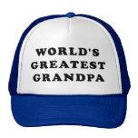 El abuelo más grande del mundo gorras