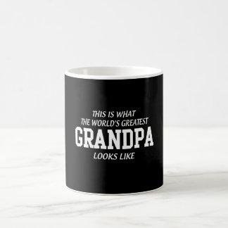 El abuelo más grande del mundo taza clásica