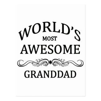 El abuelo más impresionante del mundo tarjeta postal