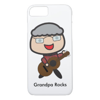 El abuelo oscila personalizable funda iPhone 7