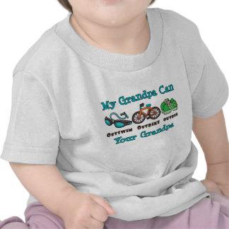 El abuelo Outswim al bebé superado Outbike del Camiseta