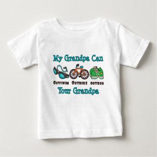 El abuelo Outswim al bebé superado Outbike del Tee Shirts