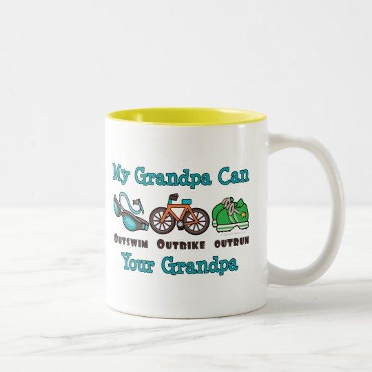 El abuelo Outswim la taza superada Outbike del
