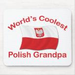 El abuelo polaco más fresco tapetes de ratón
