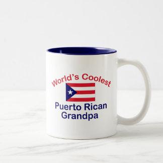 El abuelo puertorriqueño más fresco tazas